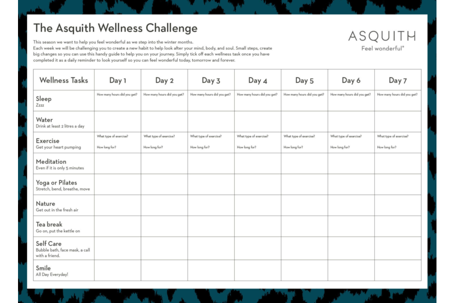 The Asquith Wellness Challenge