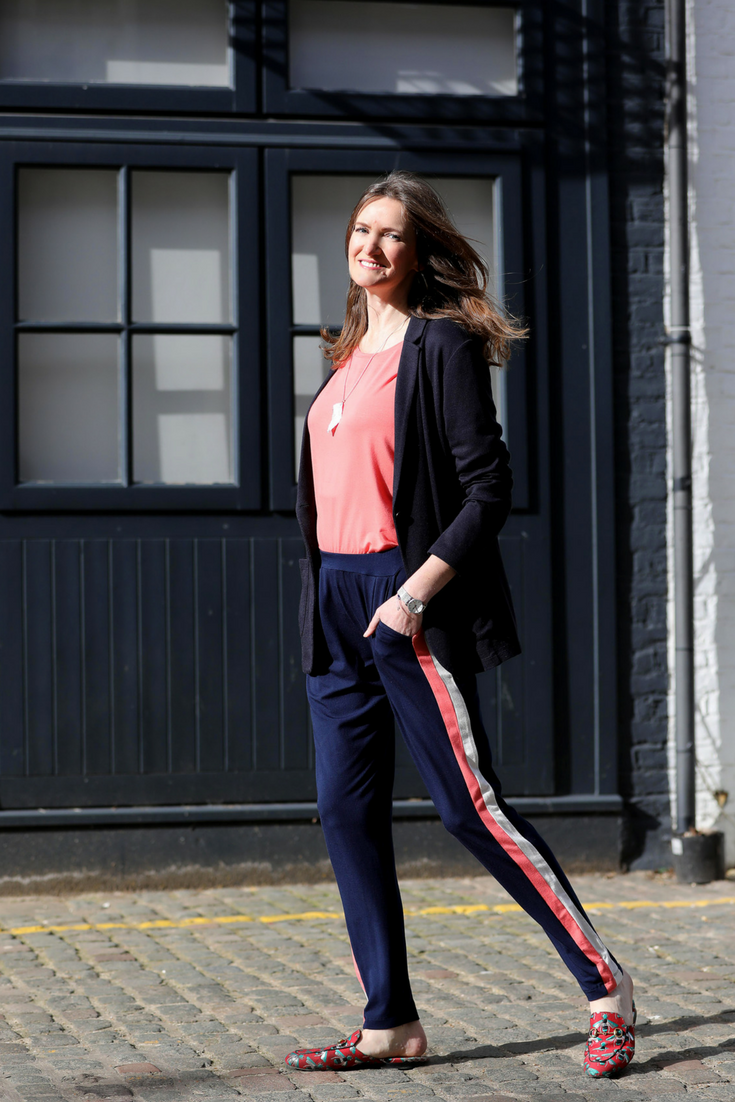 Alice Asquith in Asquith organic yoga pants