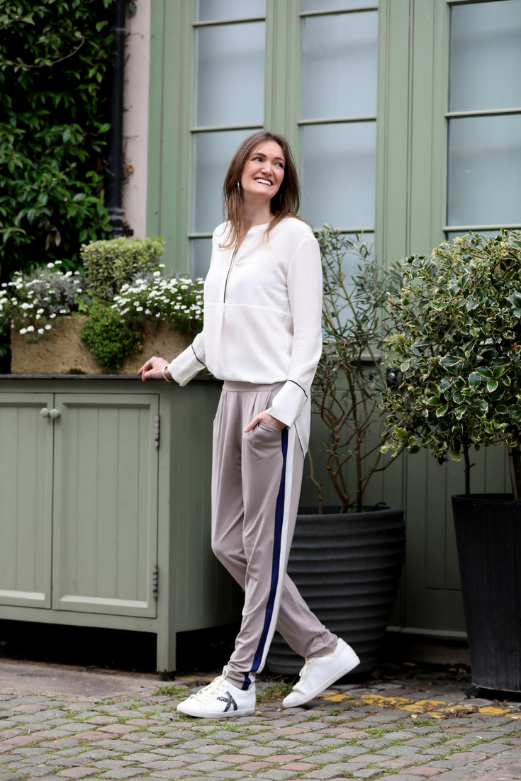 Alice Asquith in Asquith organic womens activewear