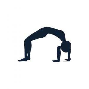 Bridge pose illustration