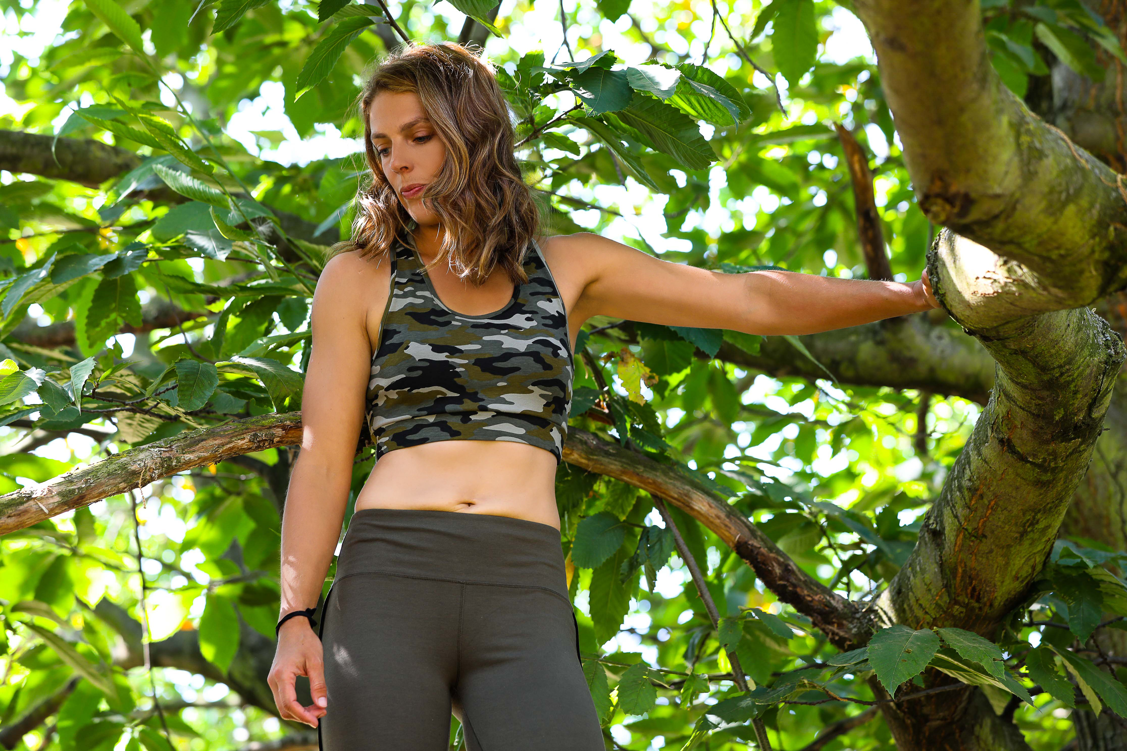 Megan Hine wears Asquith sustainable activewear