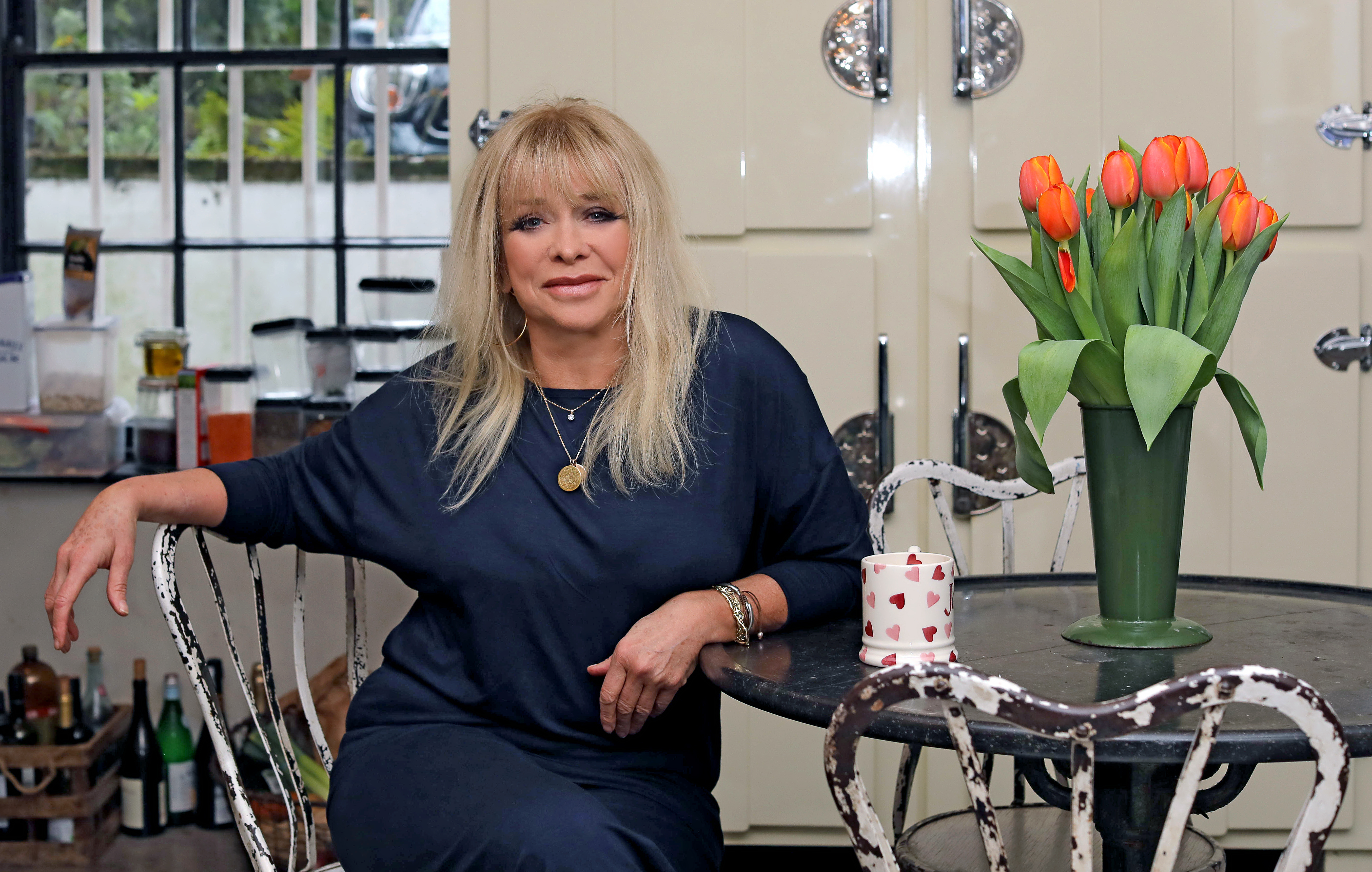Jo Wood wears Asquith sustainable activewear